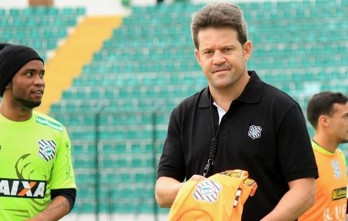 Argel Fucks Figueirense (Foto: Luiz Henrique/Figueirense FC)