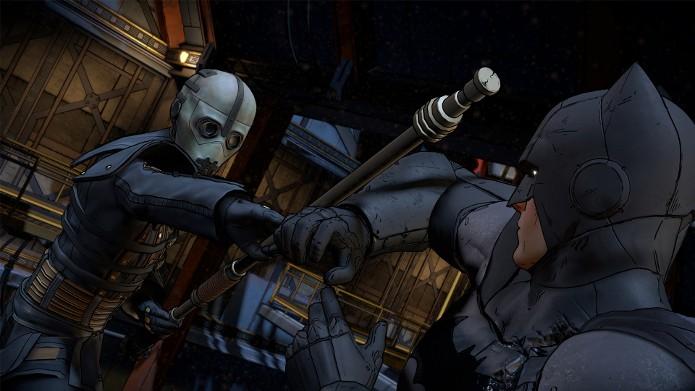 O Batman vai para a luta (Foto: Divulgação/Telltale)