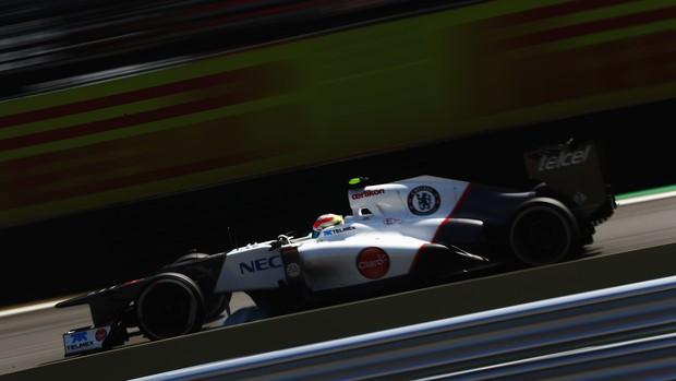 Sauber Chelsea GP do Brasil (Foto: Getty Images)