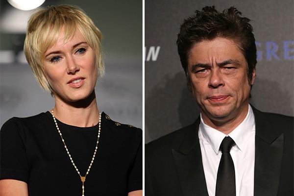 Kimberly Stewart e Benicio Del Toro (Foto: Getty Images)