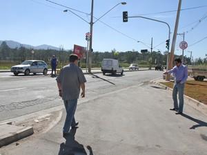 Avenida terá mudanças no trânsito e vai receber novo semáforo (Foto: Guilherme Berti/PMMC)
