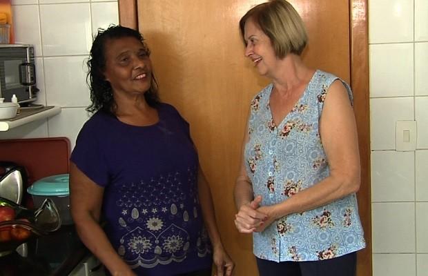 Programa facilita acerto de dívidas de domésticas com o INSS, em Goiás (Foto: Reprodução/TV Anhanguera)