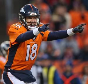 NFL - Denver Broncos - Peyton Manning (Foto: Doug Pensinger / Getty Images)