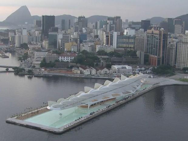 Museu do Amanhã fica na Praça Mauá (Foto: Reprodução/TV Globo)