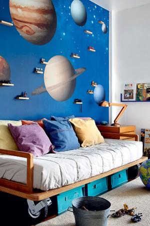Viagem espacial  (Foto: Edu Castello)