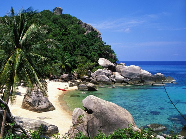 Ilha de Koh Tao, na Tailândia (Foto: Terry Williams / Getty Images)