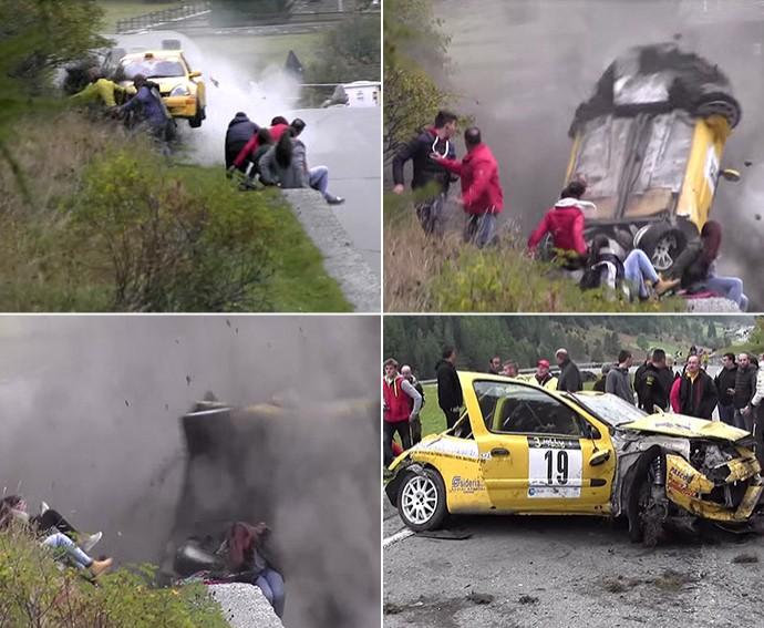frame acidente Jolly rally (Foto: Reprodução / Youtube)