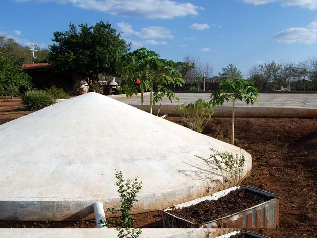 Cisternas serão entregues na próxima semana (Foto: José Bezerra/G1)