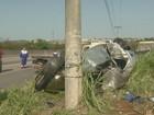 Capotamento deixa dois mortos e três feridos em rodovia de Campinas