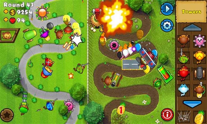 Bloons: Tower Defense 5 desafia o jogador a testar suas habilidades de defesa (Foto: Divulgação/Windows Phone Store)