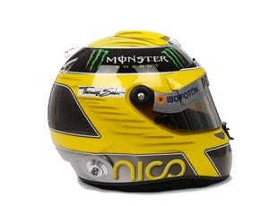 Capacete Nico Rosberg (Foto: Divulgação)