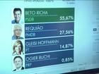 Beto Richa é reeleito governador do PR no primeiro turno