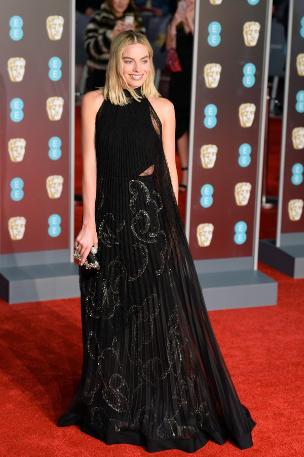 Margot Robbie no BAFTA (Foto: Getty Images)