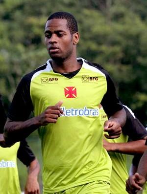 Dedé no treino do Vasco (Foto: Marcelo Sadio / Site do Vasco)