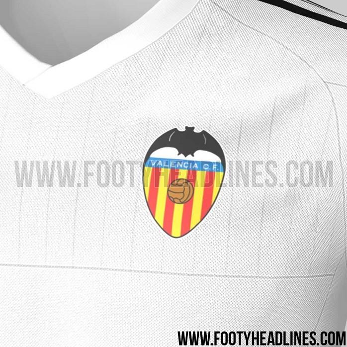 Camisa titular Valencia temporada 2015/16 2