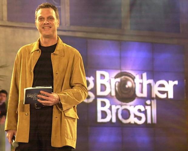 Bial no BBB 2 (Foto: Divulgação/TV Globo)