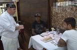 Chef Coxa Branca recebeu a visita de Henrique Almeida e Filigrana
