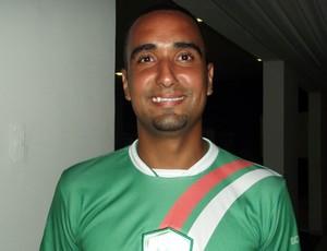 Zagueiro Bruno Recife acredita em time forte para 2013 (Foto: Jocaff Souza/GLOBOESPORTE.COM)