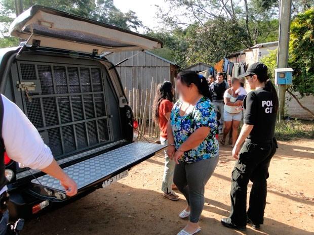 Trafico Itaqui RS (Foto: Polícia Civil/Divulgação )