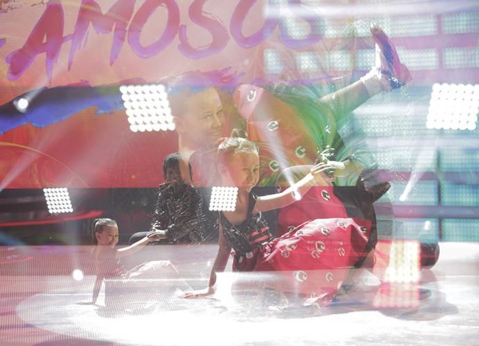 A garotada se divertiu ao som do rock! (Foto: Inácio Moraes/Gshow)