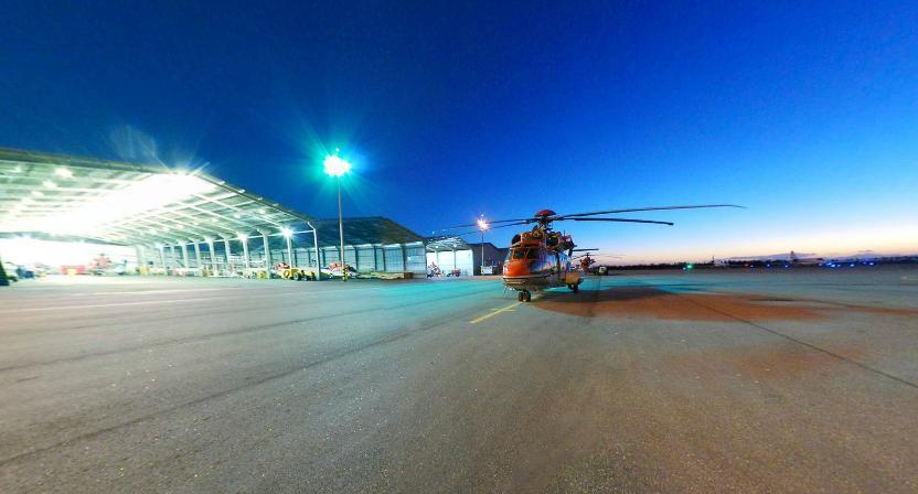 De 2011 para 2012, o aeroporto registrou um aumento de 61,7% nos pousos, a maioria de funcionários e helicopteros das plataformas de petróleo (Foto: Divulgação / Grupo Libra)