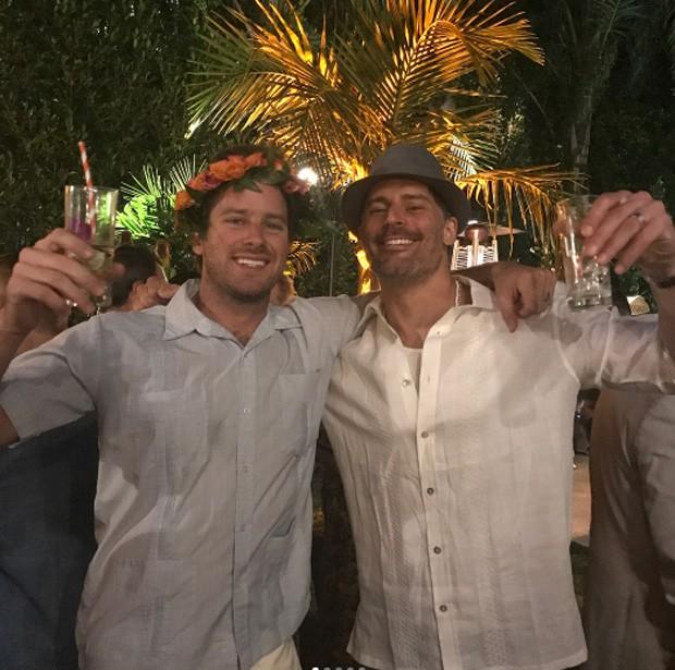 Armie Hammer e Joe Manganiello (Foto: Reprodução / Instagram)