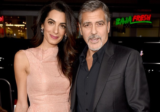 O casal Amal e George Clooney (Foto: Getty Images)