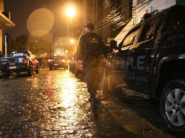Operação Kapnós aconteceu em cinco estados do nordeste (Foto: Divulgação/MP-AL)