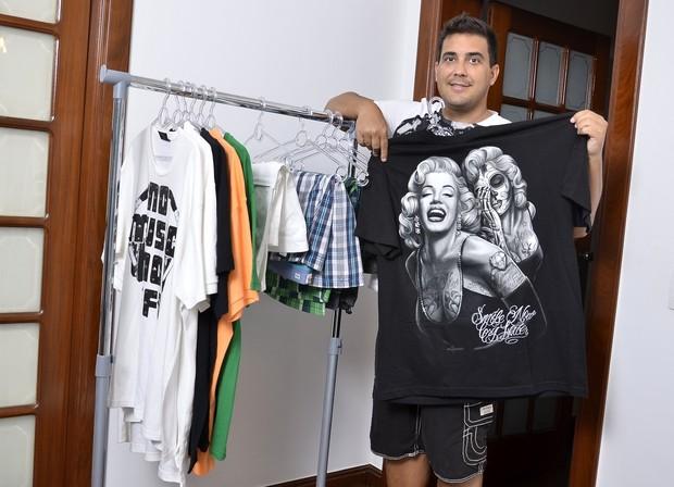 André Marques posa para o EGO (Foto: Roberto Teixeira / EGO)