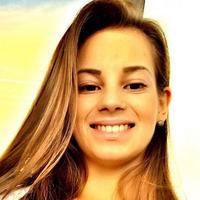 Morgana Gmach, do conjunto brasileiro de ginástica rítmica (Foto: Reprodução/Instagram)