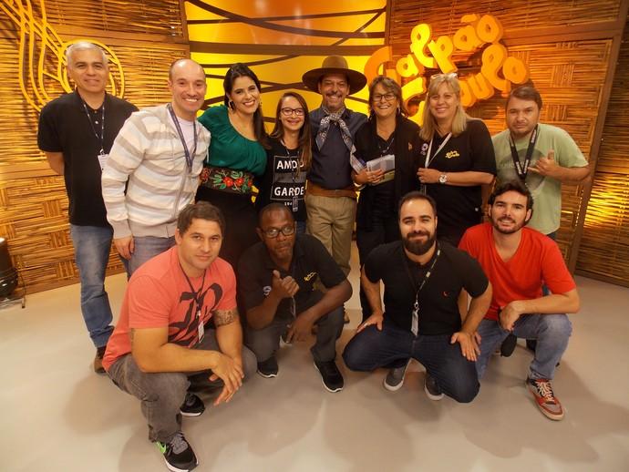 Equipe Galpão Crioulo (Foto: Divulgação/RBS TV)