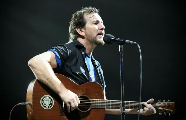 Eddie Vedder, do Pearl Jam (Foto: Reprodução/ Facebook)