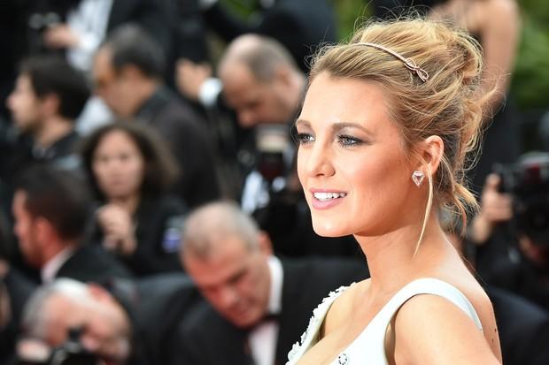 Blake Lively no Festival de Cannes (Foto: ALBERTO PIZZOLI/AFP)