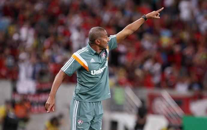 Cristovão Borges, Fluminense x Flamengo (Foto: Ricardo Ayres/Photocamera)