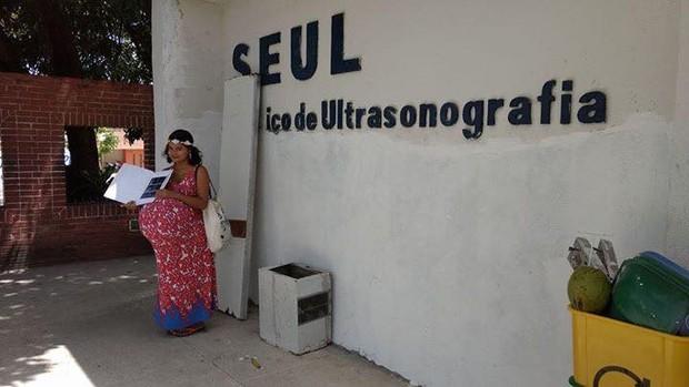 Brincadeira da nova grávida de Taubaté (Foto: Reprodução/Facebook)