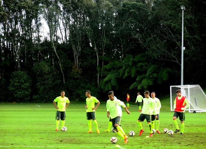 Treino seleção brasileira sub-20 (Foto: Felipe Schmidt)