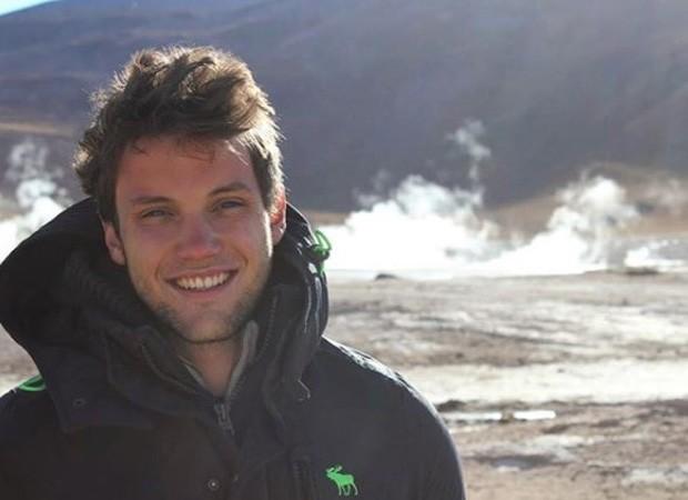 Marcos Wegmann, irmão de Alice Wegmann (Foto: Reprodução/Instagram)