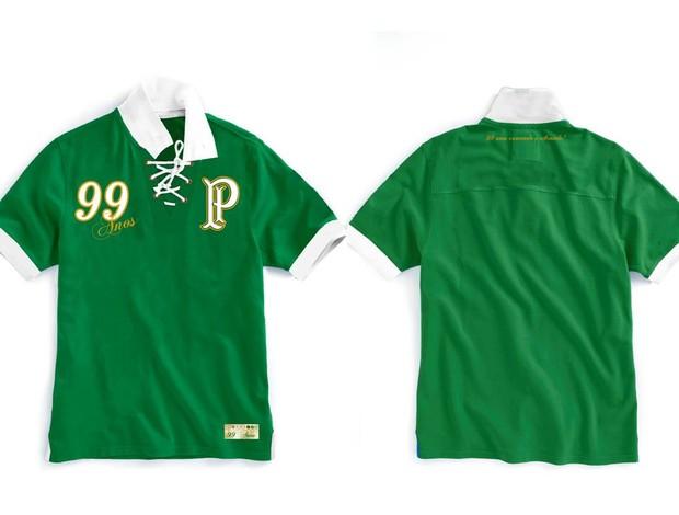 Palmeiras camisa 99 anos (Foto: Divulgação)