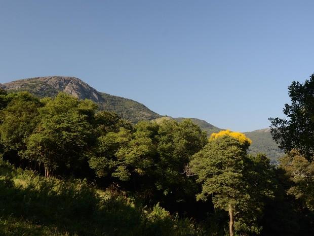 Preservação da Pedra Branca, em Caldas (MG), é um dos principais objetivos da federação (Foto: Divulgação/APA Santuário Ecológico da Pedra Branca)