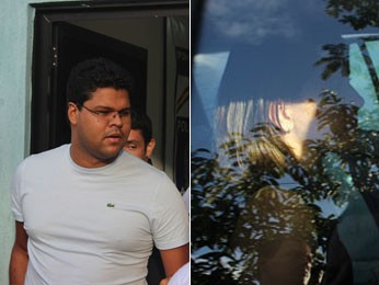 Henrique e Mirele foram presos no Recife (Foto: Vitor Tavares / G1)