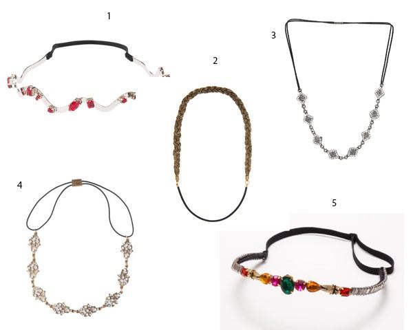 Escolha sua headband preferida (Foto: Divulgação)