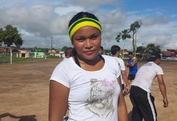 Cléa santos, assisitente liga (Foto: Weldon Luciano/GloboEsporte.com)