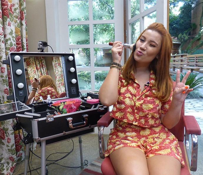 Bianca Andrade revela qual será a maquiagem mais usada no verão (Foto: Gabi Freitas / Gshow)