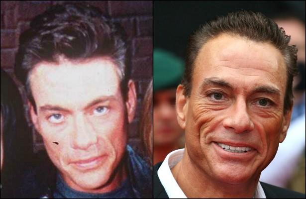 O belga Jean-Claude Van Damme é outro ator/lutador cuja carreira estacionou junto com o levantamento de ferro na academia. Aos 54 anos, o astro de 'Kickboxer — O Desafio do Dragão' (1989), 'Leão Branco — O Lutador Sem Lei' (1990) e 'Duplo Impacto' (1991) anda longe, bem longe de ter êxito semelhante ao que experimentou na década de 90. (Foto: Getty Images)