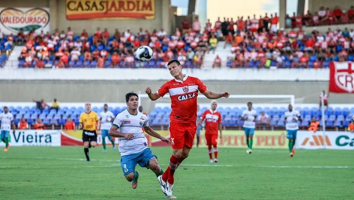 CRB x Coruripe - Hexagonal Campeonato Alagoano - Estádio Rei Pelé - Diego Jussani (Foto: Ailton Cruz/ Gazeta de Alagoas)