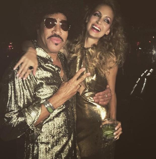 Lionel Richie e Nicole Richie (Foto: Reprodução)