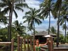 Marina Ruy Barbosa posta foto de maiô em viagem à Bahia