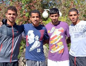 Lucas Cavalcante, Lucas Evangelista, Allan e Diego (Foto: Divulgação/Site oficial)