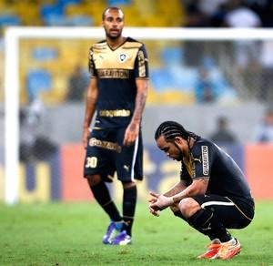 Carlos Alberto, Fluminense X Botafogo (Foto: Guito Moreto / Agência Estado)