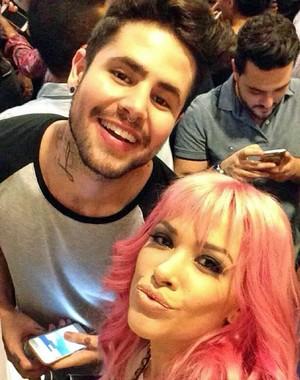 Nikki e Leandro Buenno são amigos (Foto: Arquivo Pessoal)
